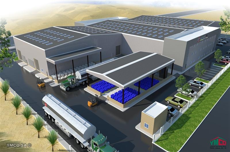 Hempel Factory - YMCO-Youssef Marroun Contracting Company